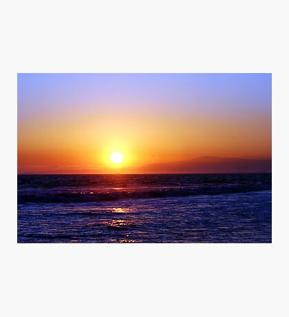 Seal Beach Sunset Photographic Print
