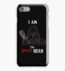 I am the Devils Head iPhone Case/Skin