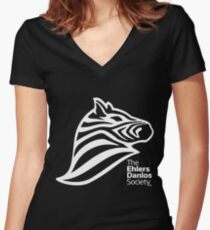 Ehlers-Danlos Awareness  Women's Fitted V-Neck T-Shirt