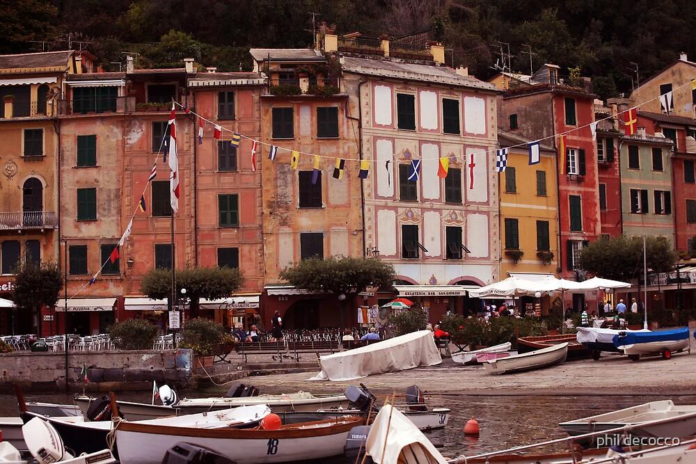Marina of Portofino by phil decocco