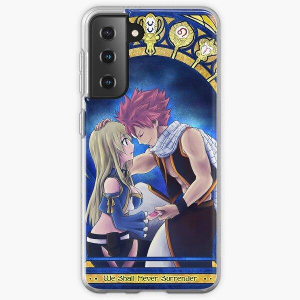 Natsu and Lucy Samsung Galaxy Soft Case