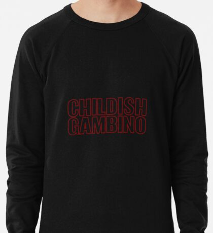 Childish Gambino Lightweight Sweatshirt