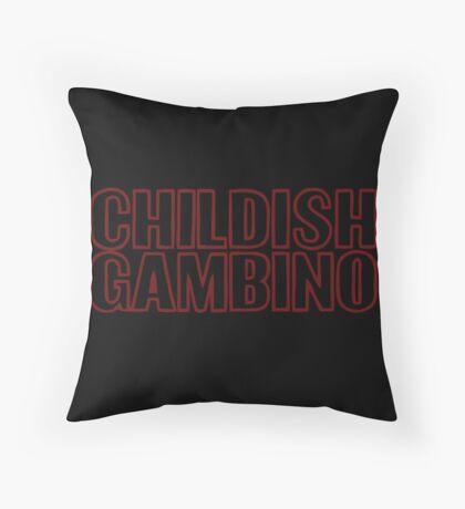 Childish Gambino Throw Pillow