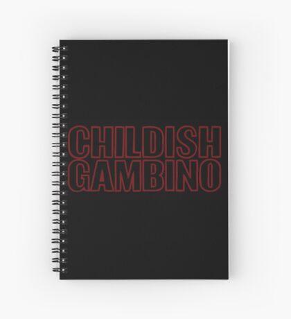 Childish Gambino Spiral Notebook