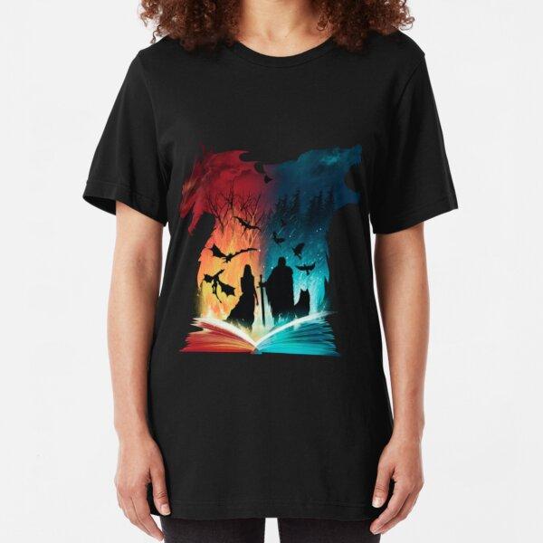 Print Game Of Thrones Slim Fit T-Shirt