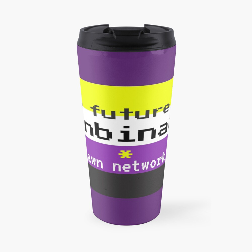 The Future is Nonbinary Travel Mug