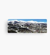 Breckenridge, Colorado Peak 6, 7, 8, 9, and 10 Canvas Print
