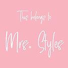 This Belongs to Mrs. Styles by Maria Alyssa Martinez