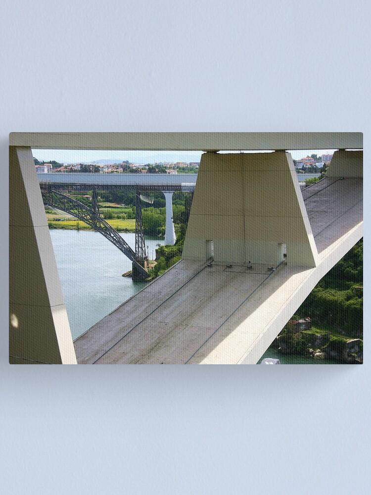 Alternate view of Bridges Canvas Print
