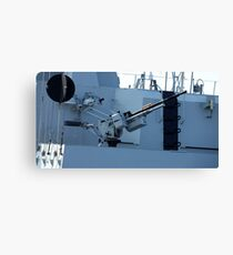 maritime heavy kalashnikov machine gun  Canvas Print
