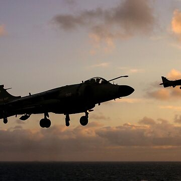 Royal Navy Sea Harriers by captureasecond