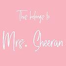This Belongs to Mrs. Sheeran by Maria Alyssa Martinez