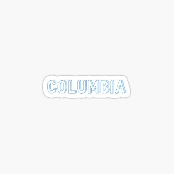Columbia University Sticker Sticker