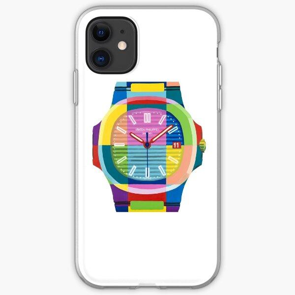 Patek Philippe Nautilus Rainbow iPhone Soft Case