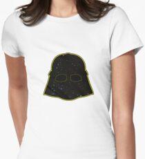 Darth helmet Women's Fitted T-Shirt