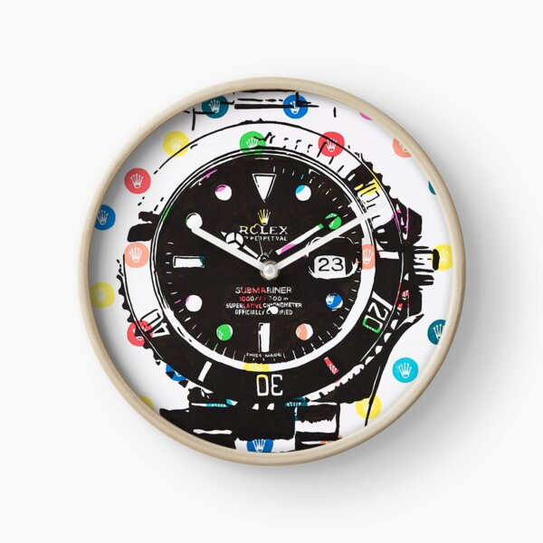 Rolex Submariner Dots Clock
