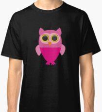 Owl pink Classic T-Shirt