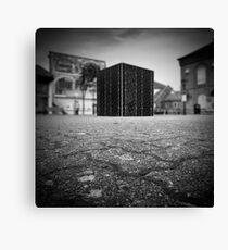 Cube Square Canvas Print