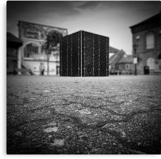 Cube Square by ffotoCymru