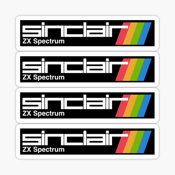 ZX Spectrum Sticker