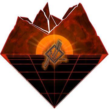 Mountain Grid {N. L. Version} by CDJones
