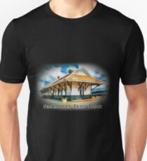 Pascagoula Train Depot - Rail Road - Historical T-Shirt