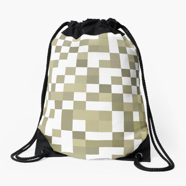 Structure, framework, composition, frame, texture,  decoration, motif, marking Drawstring Bag