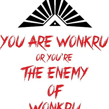 The100 - You are Wonkru by seriesclothing