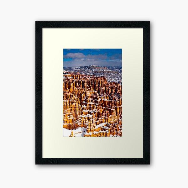 Bryce Canyon Powder Coated Framed Art Print