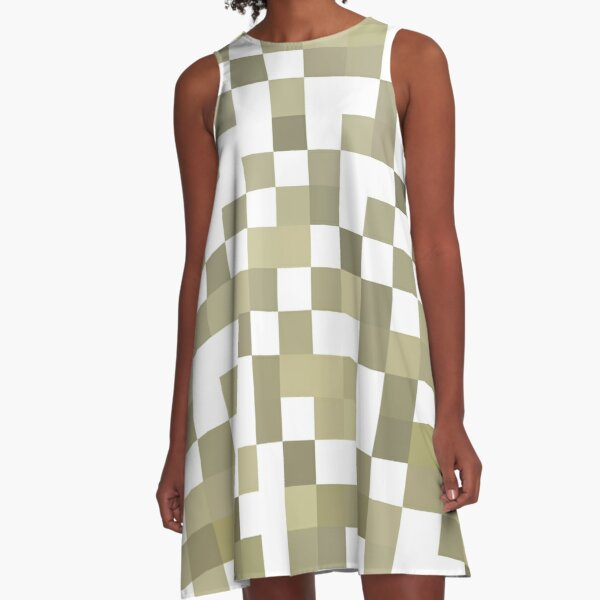 Pattern, design, tracery, weave, Remarkable, extraordinary A-Line Dress