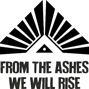 The 100 - From the Ashes We will Rise by seriesclothing