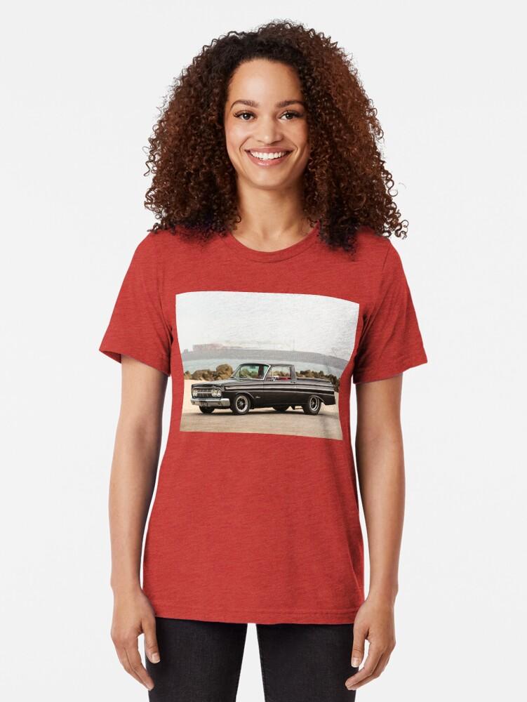 Alternate view of John Kerr's 1964 Mercury Comet / Ford Ranchero Tri-blend T-Shirt