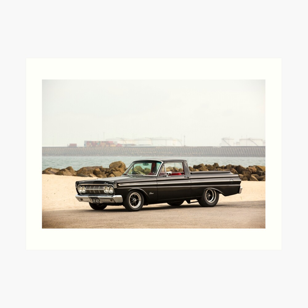John Kerr's 1964 Mercury Comet / Ford Ranchero Art Print