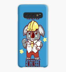 Koalified Engineer - Koala Animal Pun Shirt Case/Skin for Samsung Galaxy