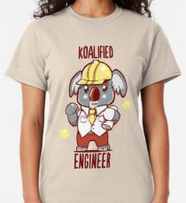 Koalified Engineer - Koala Animal Pun Shirt Classic T-Shirt