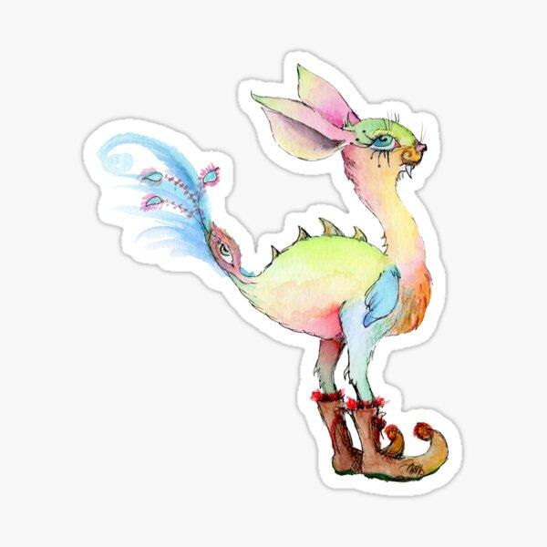 Sabertooth Birdiebunnyboo Sticker