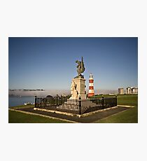 Royal Marines Memorial, Plymouth, Devon UK Photographic Print