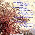 Burn poem by ArielPacNWpoet