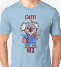 Koalified Nurse - Koala Animal Pun Shirt Slim Fit T-Shirt