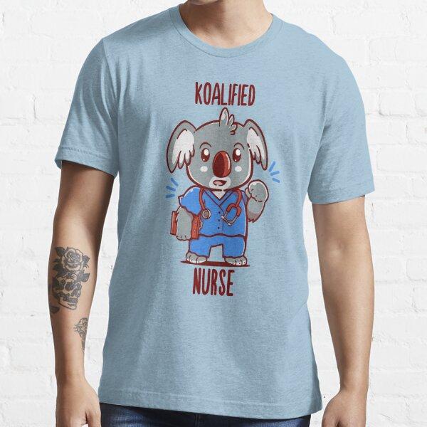 Koalified Nurse - Koala Animal Pun Shirt Essential T-Shirt