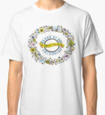 Death to the Patriarchy Wreath  Classic T-Shirt