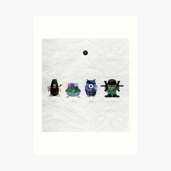 The Little Goblins Art Print