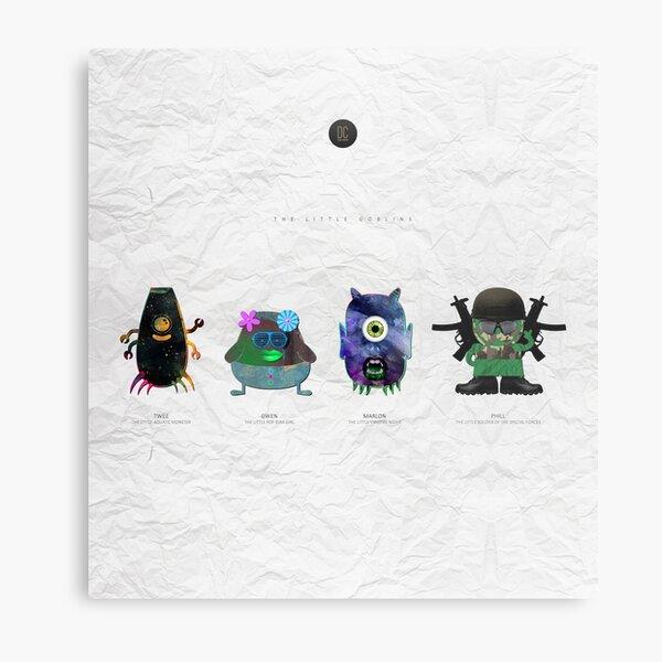 The Little Goblins Metal Print