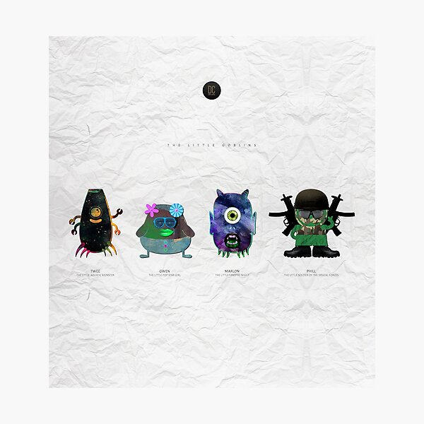 The Little Goblins Photographic Print