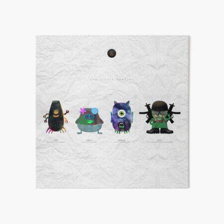 The Little Goblins Art Board Print