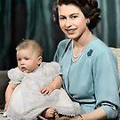 Queen Elizabeth by Fernando Ribeiro  Colorization