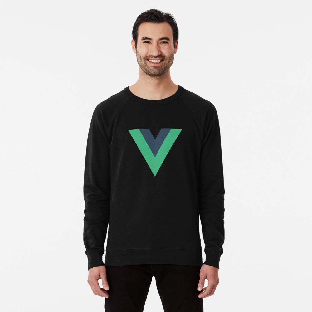 Vue.js Framework Offizielles Logo T-Shirt Leichter Pullover