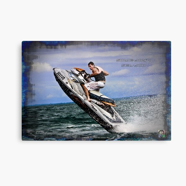 Some Don't - Sea Doo Metal Print