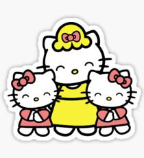 Hello Kitty-Happy Mother's Day from us Sticker