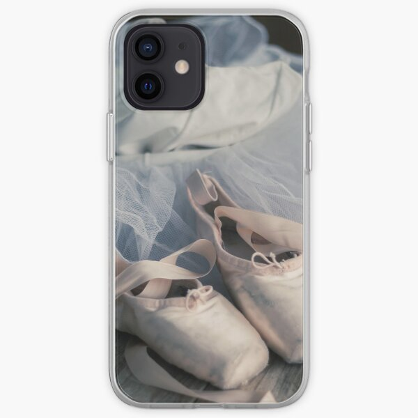Ballet Pointe Shoes and Tutu iPhone Soft Case